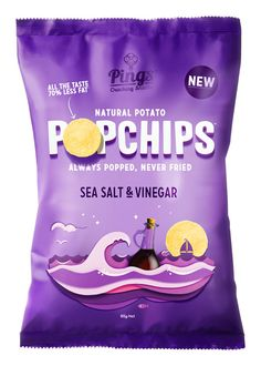 Popchips by Marx Design - packaging