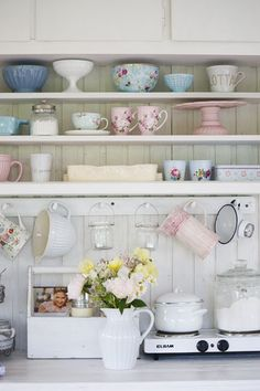 kitchen dresser....LOVE this and everything on it!!