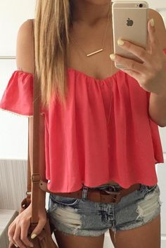 Baby Ruffle Off Shoulder Top (more colors)
