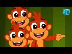 Five Little Monkeys Jumping On The Bed | Children Nursery Rhyme | Songs - YouTube