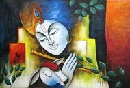 We bring the Best Canvas Painting Ideas for Beginners who has that artis to throw colors canvas art on the sheet portraying the thoughts running into mind for your home, painting ideas, canvas wall art, canvas art Ganesha Art, Krishna Art, Lord Krishna, Shree Krishna, Krishna Images, Radhe Krishna, Meaningful Paintings, Religious Paintings, Animales