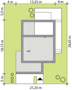 DOM.PL™ - Projekt domu TP Mikado CE - DOM TP1-83 - gotowy koszt budowy Floor Plans, Design, Home