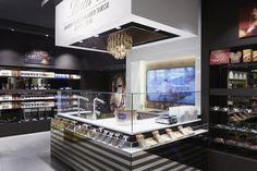 Client: Lindt  & Sprüngli Location: Verkehrshaus Luzern Design: Lindt & Sprüngli Year: 2014 #interior #shopfitting #store #shop #sweets #lindt & sprüngli #design