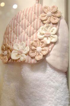 porta toalha de patchwork