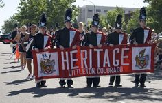 Heritage High School Marching Band - Western Welcome Week Grand Parade, Littleton, CO