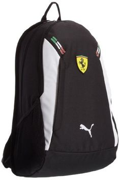Puma Ferrari Replica Black and White Casual Backpack (7113502), http://www.junglee.com/dp/B00AYVPOW4/ref=cm_sw_cl_pt_dp_B00AYVPOW4