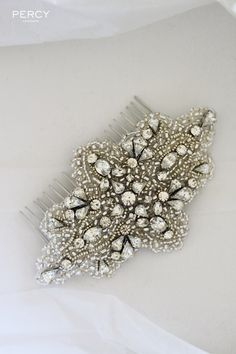 Rhinestone wedding accessories for UK bride Tania | TANIA MARAS