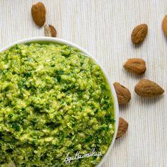 Naładowane witaminą C migdałowe pesto ⋆ AgaMaSmaka - żyj i jedz zdrowo! Palak Paneer, Pesto, Ethnic Recipes, Ale, Ale Beer, Ales, Beer