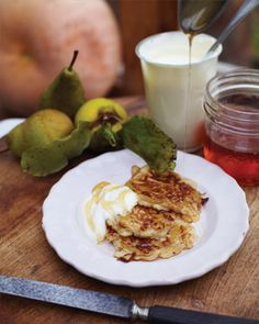 Jamie Oliver's recipe for the fluffiest, loveliest American-style pancakes ever.