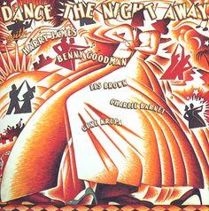 Capa de disco de 1980. Direção de arte e tipografia de Paula Scher, ilustração John O'leary