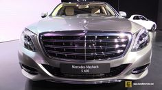 2016 Mercedes-Benz Maybach S-Class S600 - Exterior, Interior Walkaround ...