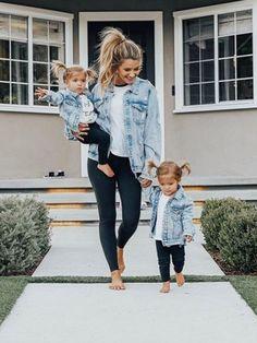 So cute little's fashion future mom, kids outfits, baby gir Fashion Kids, Baby Girl Fashion, Mommy Fashion, Babies Fashion, Toddler Fashion, Denim Fashion, Fall Fashion, Womens Fashion, Fashion Trends