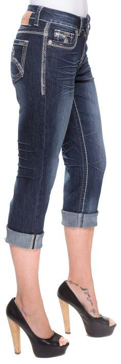 Carelli Jeans - Capri en denim