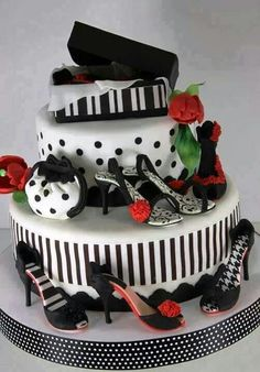 High heel cake for a diva