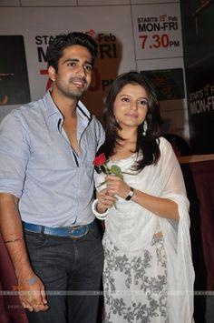 Avinash Sachdev and Rubina Dilaik at Choti Bahu launch