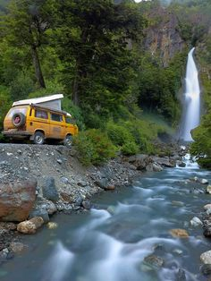 Here we have some amazing photos courtesy of www.travel2explore.ch who are spending 10 months in their yellow Volkswagen T25 Syncro roadtrippin' around South America. See more from their travels here....