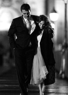 Chris Noth & Sarah Jessica Parker as Carrie and Big in sex and the city