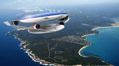 Ecologic Aircraft Design concept is futuristic aircraft that spends less energy to travel. It's been designed with photovoltaic cells on its large roof Futuristic Technology, Futuristic Cars, Futuristic Architecture, Green Technology, Solar Energy Information, Electric Aircraft, Photovoltaic Cells, Future Transportation, Experimental Aircraft