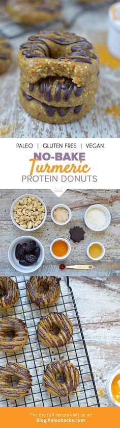 Donut lovers, rejoice. These Turmeric Protein Donuts turns your favorite treat into an anti-inflammatory, protein-packed recipe. Get the recipe here: http://paleo.co/turmproteindonuts