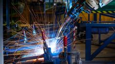"""NORTH CHARLESTON, SC—Saying it had been mulling over the """"fun little side project"""" for a while, an Electroimpact Quadbot reportedly put in some extra work after hours at the Boeing assembly plant Wednesday to try out a few of its own original designs."""