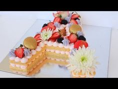 Cream Tart Tutorial - YouTube