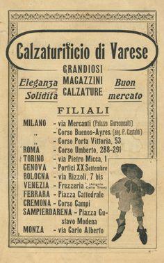 1919| CALZATURIFICIO DI VARESE