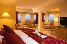 Hotel Riu Palace Hammamet Marhaba - Room design - Hotel in Hammamet, Tunisia. RIU Hotels  Resorts