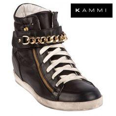 #Sneaker con accessori #oro by #Kammi #KammiStyle