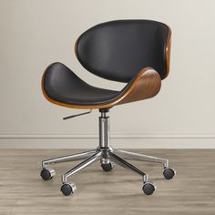 You'll love the Enzo Mid-Back Leather Office Chair at AllModern - With Great Deals on modern Office  products and Free Shipping on most stuff, even the big stuff.
