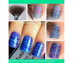 DIY Nail Art @Luuux #Nails #Nailart #Diynailart