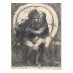 Rosetti. Paolo and Francesca. 1885.