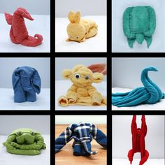 How To Make The Cutest Napkin And Towel Animals – Best Towel Models and Patterns 2020 Napkin Origami, Towel Origami, Fun Crafts For Kids, Toddler Crafts, Kitchen Towel Cakes, Spa Inspired Bathroom, Decorative Napkins, Towel Animals, How To Fold Towels
