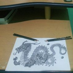 #chinesedragon  Inspired by someone in Google        ( Thank you to you ! )