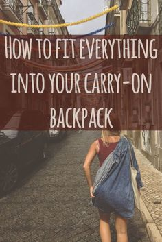 """It is easier than you think to fit your entire life into a small backpack. We are living on the road only carrying carry-on sized backpacks and we love the simplicity of light travel! In this post I have tried to outline things to take into consideration when packing """"for forever"""" (or just a long trip) while limiting the weight and size of your pack. You will also find my detailed complete packing list."""