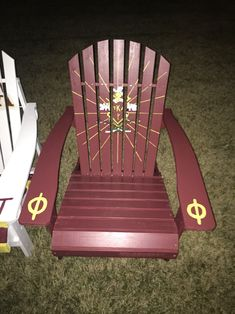 PIKE Fraternity Adirondack Chair