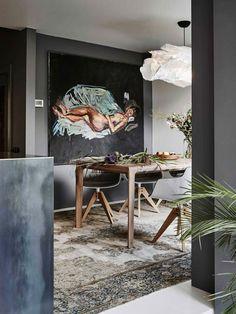 Интерьер дома нидерландского художника Casper Faassen