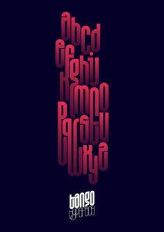 Tango Typeface Poster, via Flickr.