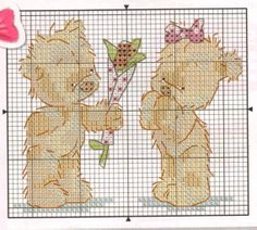Bentley giving flowers Cross Stitch Crazy Issue 148 March 2011 Hardcopy