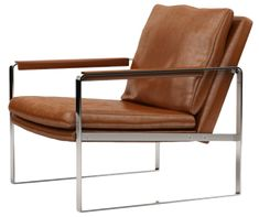 Shop Cressina for Charles Armchair by ModLoft. The Charles leather armchair exhibits a sleek silouette, featuring premium bicast leather upholstery. Furniture Logo, Cheap Furniture, Rustic Furniture, Living Room Furniture, Modern Furniture, Home Furniture, Furniture Design, Antique Furniture, Outdoor Furniture