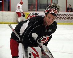 Cam Ward...yum.  I definitely have a thing for goalies!