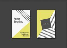 Paper street Co. Tasarım Ürünler - Asimetrik Sarı Kartvizit     Kişiye özel kartvizit tasarımları    #kartvizit #businesscard #design #custommade #paperstreet