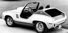 1969 #Jeep XJ001 Concept