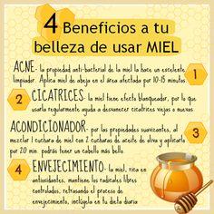 Si no tenías idea de todos los beneficios que la miel de abeja tiene en tu belleza, ¡Prueba esto!