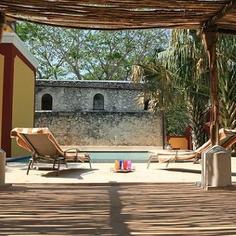 Hacienda Santa Cruz Yucatan Mexico