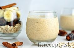 This excellent banana oat breakfast smoothie with dates and cinnamon is the perfect choice for a healthy and nutritious breakfast. Smoothie is only sweetened with fruit and has . Banana Oat Smoothie, Banana Oats, Nutritious Breakfast, Nutritious Meals, Healthy Diet Plans, Healthy Recipes, Diet Plan Menu, Protein, Good Food
