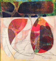 Gelli-Print & Collage from Jane Davies workshop