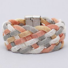 Brice Bracelet in Quad Tone