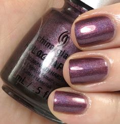 China Glaze Hologlam Holographic Collection Review, Photos, Swatches- when stars collide