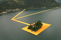 Christo's 3km Floating Walkway Across Italy's Lake Iseo Open To Public