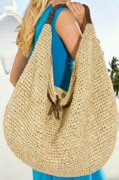 C Style+Design: Summer Handbags.Woven Fabrics, Neutral Colors C Style+Design: Summer Handbags.Woven Fabrics, Neutral Colors Record of Knitting String rotating, weaving and stitchin. Summer Handbags, Summer Bags, Crochet Handbags, Crochet Purses, Crochet Bags, Love Crochet, Hand Crochet, Cotton Crochet, Straw Tote